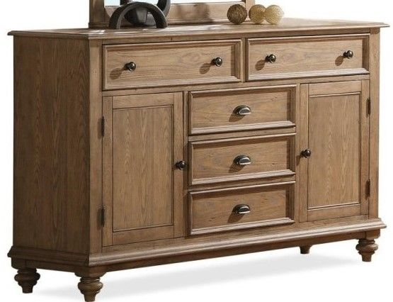 Riverside Furniture Coventry Panel Door Dresser-32462