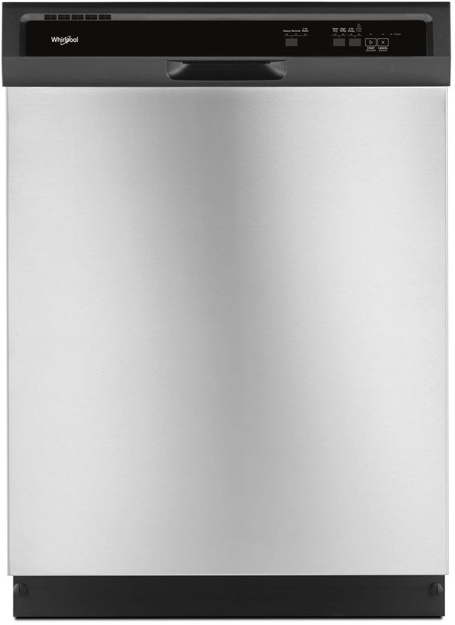 """Whirlpool® 24"""" Built In Dishwasher-Stainless Steel-WDF331PAHS"""