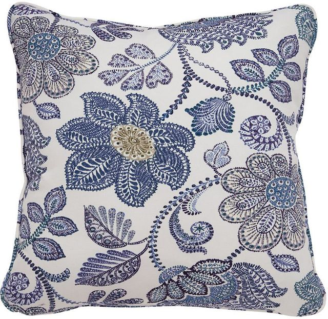 Signature Design by Ashley® Miriam Blue/Green Set of 4 Pillows-A1000485