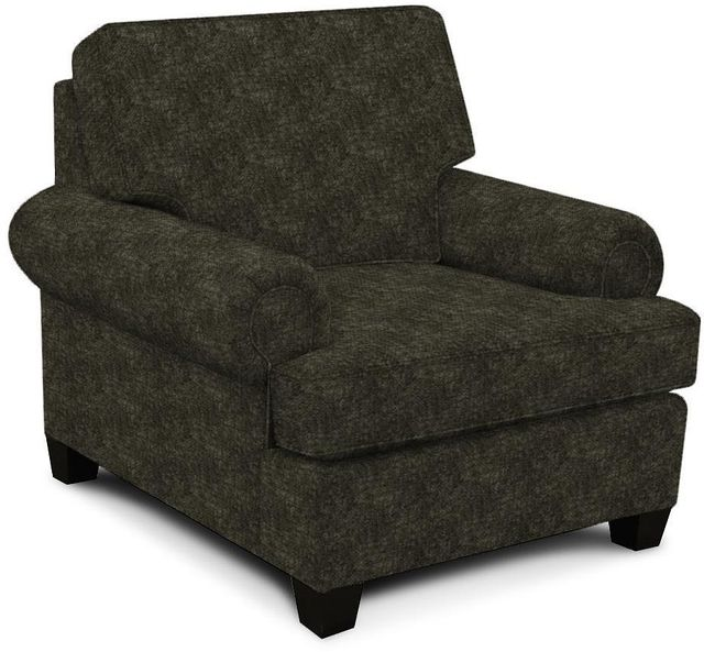 England Furniture Co. Edison Maduro Charcoal Chair-8T04-8562