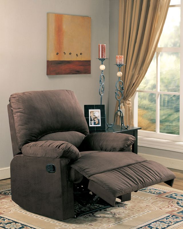 Coaster® Chocolate Motion Recliner-600266
