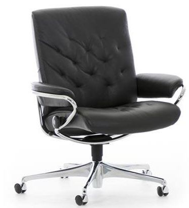 Stressless® by Ekornes® Metro Low Back Star Base Office Chair-1291097