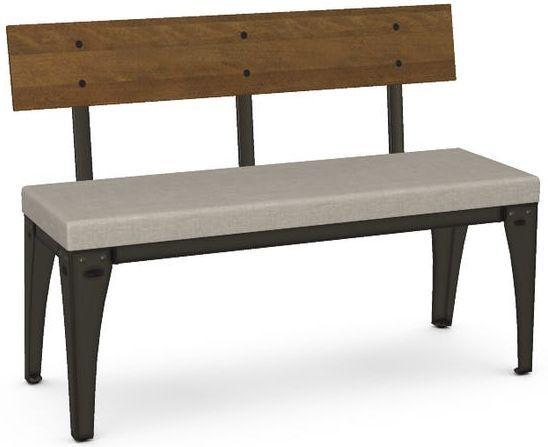 Amisco Architect Upholstered Bench-30272-C