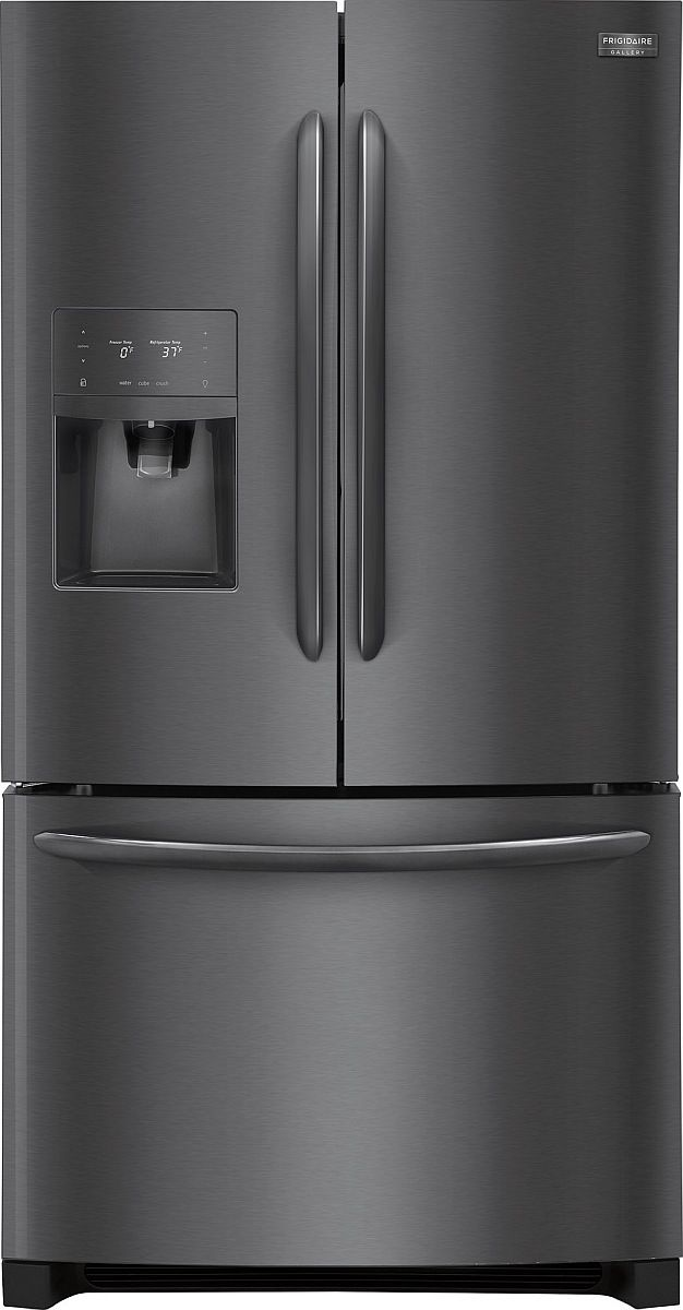 Frigidaire Gallery® 21.7 Cu. Ft. Black Stainless Steel Counter Depth French Door Refrigerator-FGHD2368TD