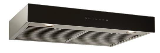 "Best® Ispira 30"" Black Stainless Steel Under Cabinet Range Hood-UCB3I30SBB"