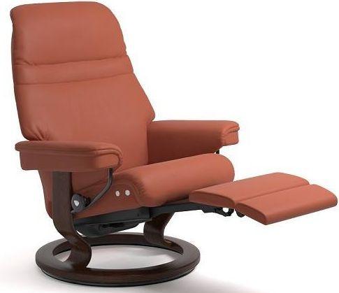 Stressless® by Ekornes® Sunrise Large Leg Comfort Recliner-1238715