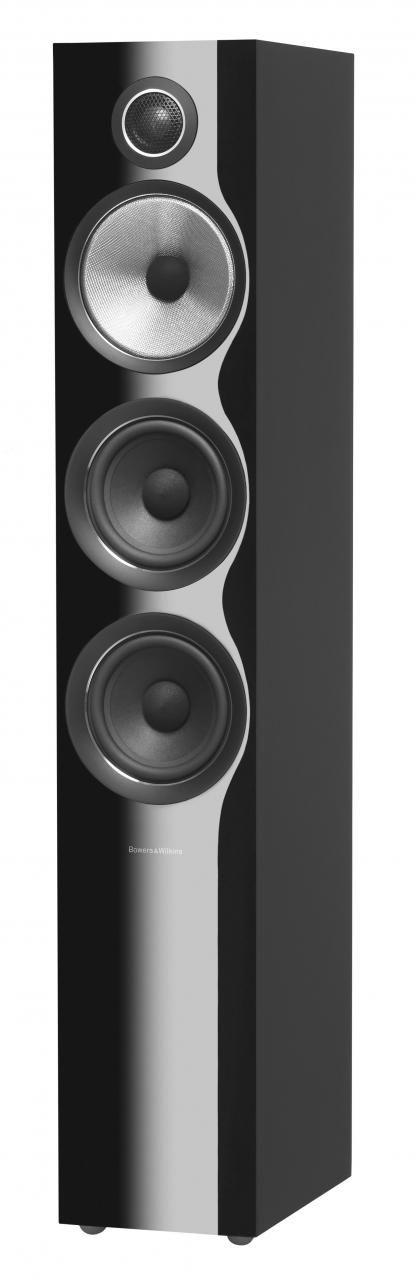 Bowers & Wilkins Gloss Black 704 S2 Floorstanding Speaker-704 S2-Black