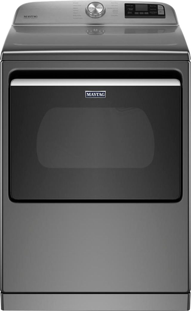 Maytag® 7.4 Cu. Ft. Metallic Slate Front Load Electric Dryer-MED7230HC