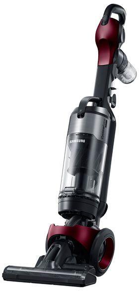Samsung Motion Sync Bagless Upright Vacuum-Refined Wine-VU12F70SHAF