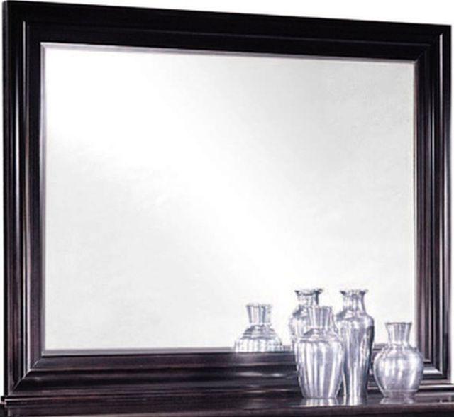 Durham Furniture Manhattan Cabernet Landscape Mirror-227-182