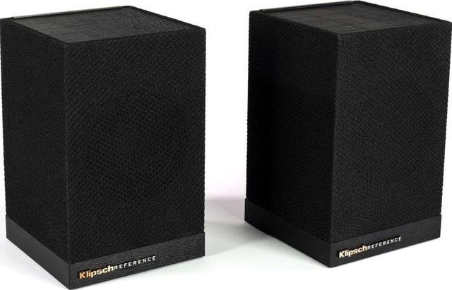 Klipsch® Surround 3 Black 2.0 Wireless Surround Speaker Pair-1067530