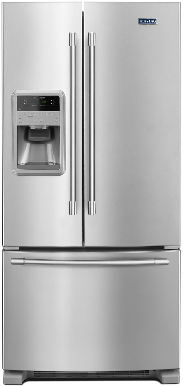 Maytag® 21.71 Cu. Ft. Fingerprint Resistant Stainless Steel French Door Refrigerator-MFI2269FRZ