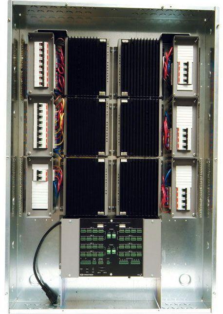 Crestron® Automation Enclosure 7 Modules High x 1 Module Wide-International Version-CAENIB-7X1