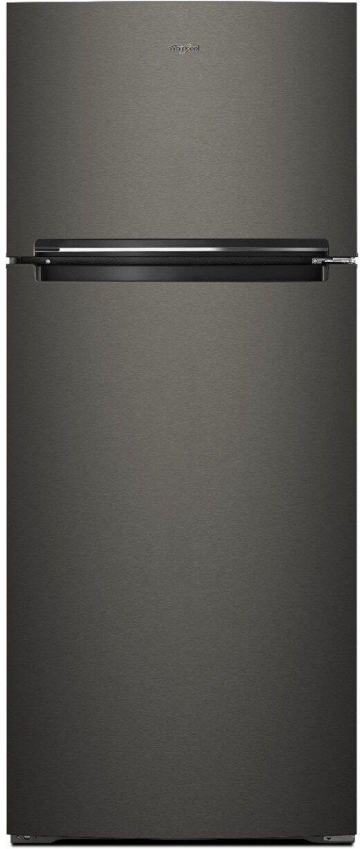 Whirlpool® 17.6 Cu. Ft. Black Stainless Steel Top Freezer Refrigerator-WRT518SZFV