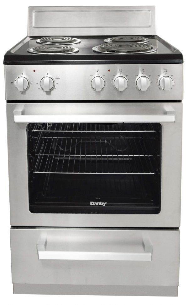 Danby® 2.5 Cu. Ft. Stainless Steel Freestanding Electric Range-DERM240BSSC