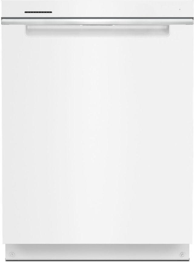"""Whirlpool® 24"""" White Built In Dishwasher-WDTA50SAKW"""