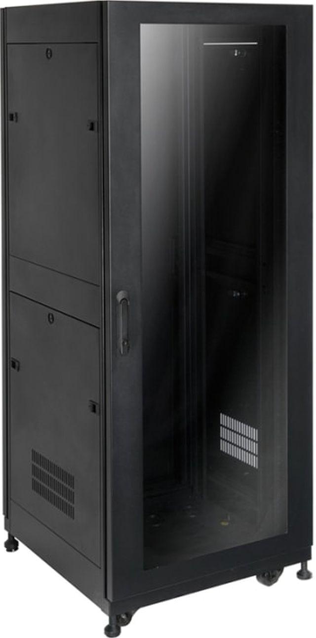 """SnapAV Strong® Signature Series 25"""" 32U Black Premium Enclosure-SR-AV-CAB-32U-25IN"""