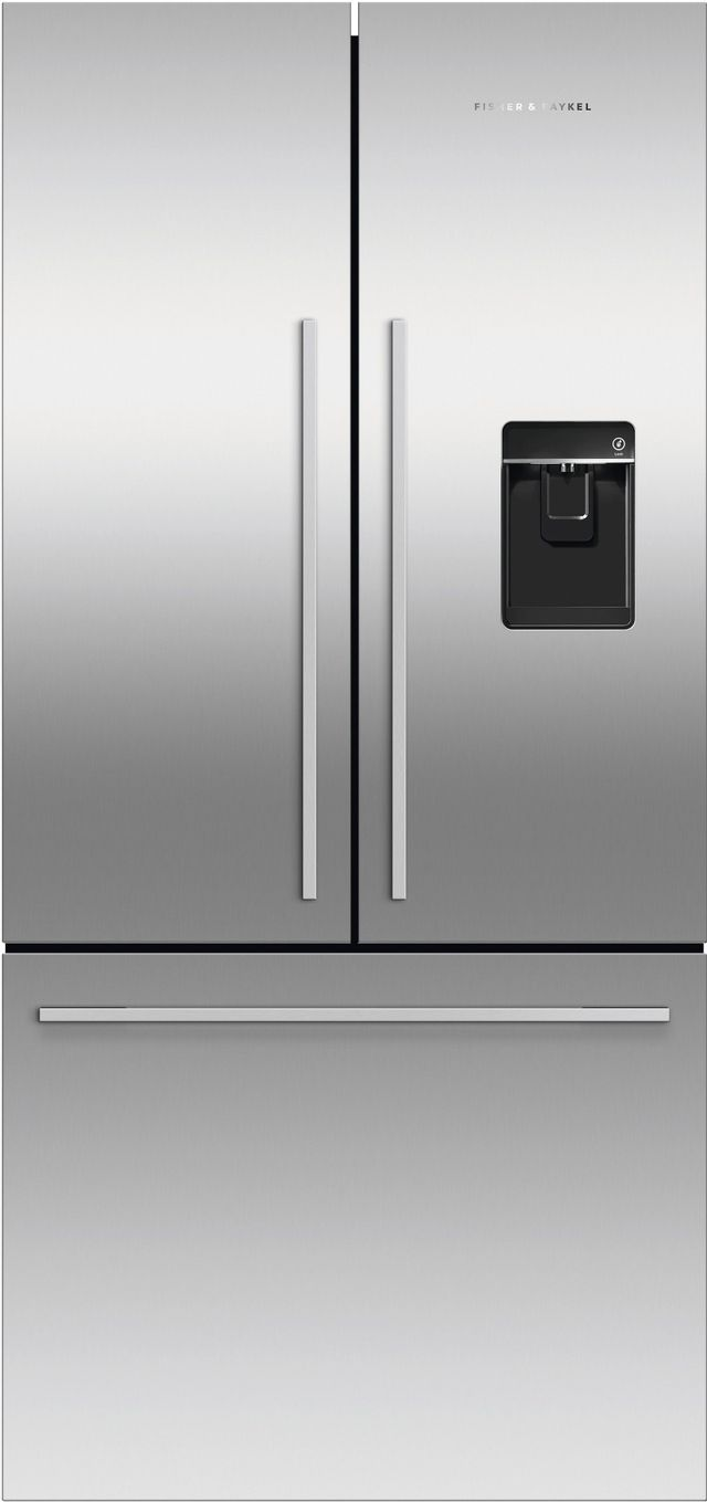 Fisher & Paykel Series 7 16.9 Cu. Ft. Stainless Steel French Door Refrigerator-RF170ADUSX4 N