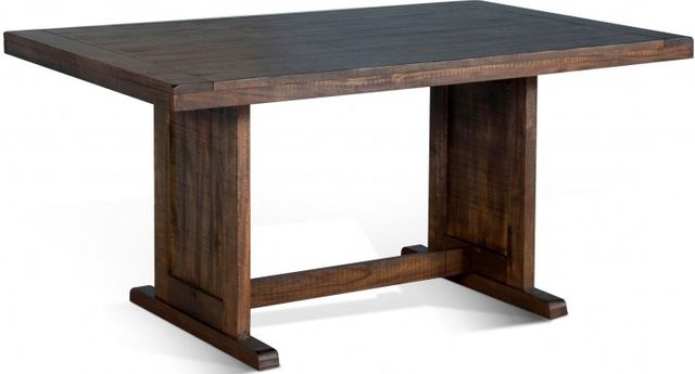 Sunny Designs Homestead Tobacco Leaf Table-0113TL-T