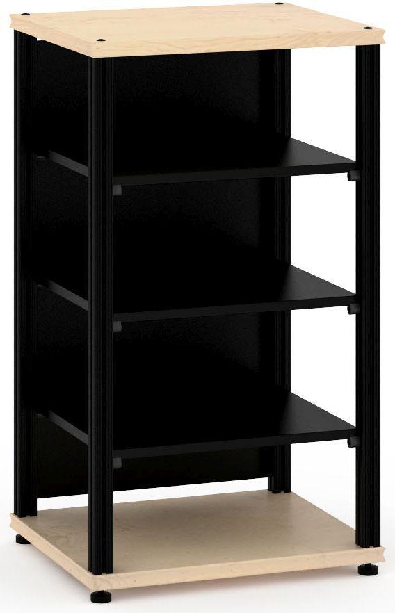Salamander Designs® Synergy Single 40 AV Cabinet-Natural Maple/Black-SU40M/B