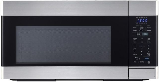 Sharp® 1.6 Cu. Ft. Stainless Steel Over The Range Microwave-SMO1652DS