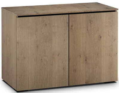 Salamander Designs® Chameleon Lancaster 323 Barnboard Oak AV Cabinet-C/LA323/BBO