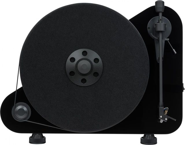 "Pro-Ject Vertical Wireless ""Plug&Play"" Turntable-High Gloss Black-VT-E-BT-Black"