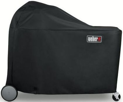 Weber® Summit® Charcoal Grilling Center Cover-Black-7174