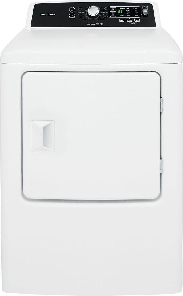 Frigidaire® 6.7 Cu. Ft. Classic White Gas Dryer-FFRG4120SW