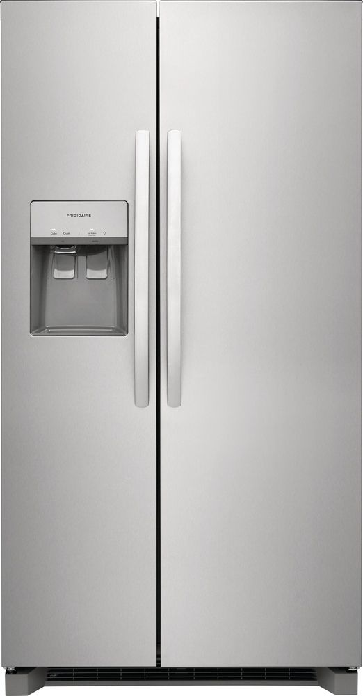 Frigidaire® 22.2 Cu. Ft. Stainless Steel Counter Depth Side-by-Side Refrigerator-FRSC2333AS