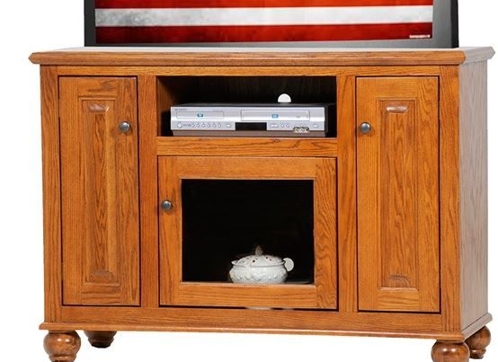 American Heartland Oak Deluxe TV Stand-63147