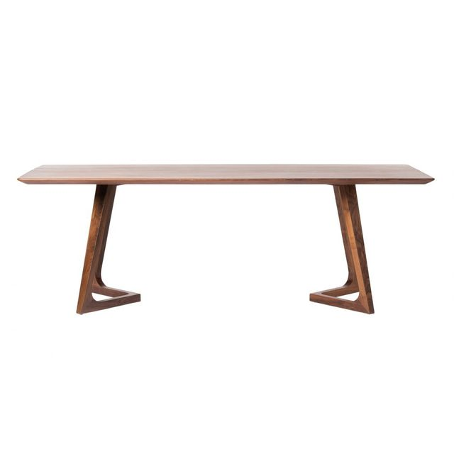 Table à manger rectangulaire Godenza, brun, Moe's Home Collections®-CB-1004-03