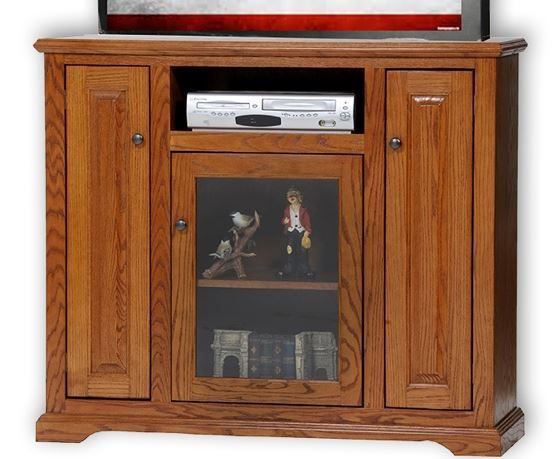 American Heartland Oak Deluxe TV Stand-63848
