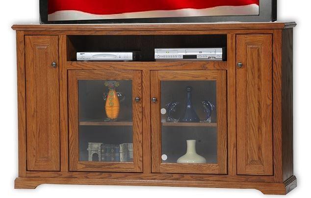 American Heartland Oak Deluxe TV Stand-63867