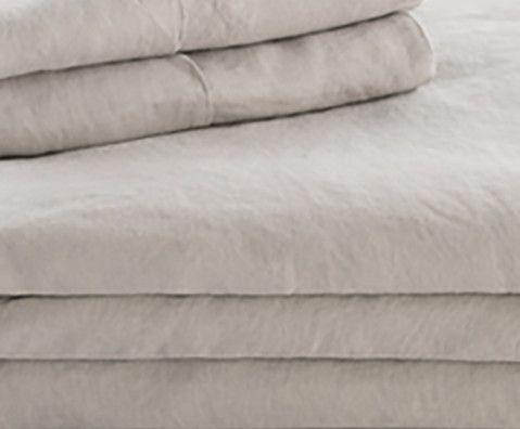 Malouf® Sleep Woven™ French Linen Flax King Sheet Set-WO162KKFLLS