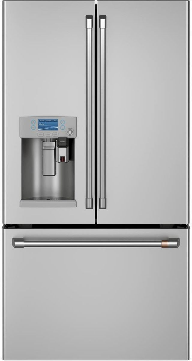 Café™ 22.2 Cu. Ft. Stainless Steel Counter Depth French Door Refrigerator-CYE22UP2MS1
