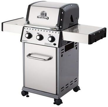 """Broil King® Baron 320 S 24"""" Stainless Steel Free Standing Grill-921557"""
