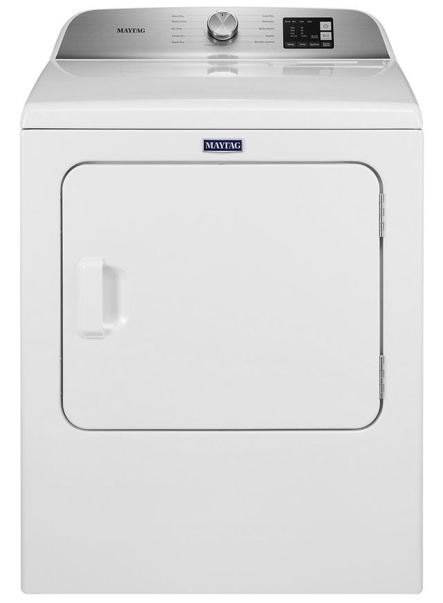 Maytag® 7.0 cu. ft. White Front Load Electric Dryer-YMED6200KW
