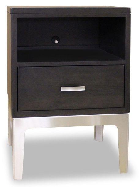 Table de nuit Defined Distinction, brun, Durham Furniture®-157-201