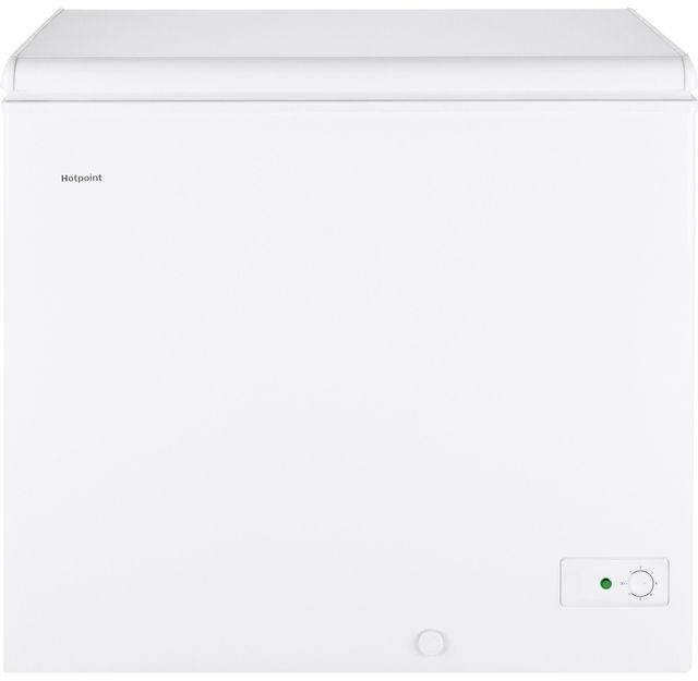 Hotpoint® 7.1 Cu. Ft. White Chest Freezer-HCM7SMWW