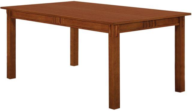 Coaster® Marbrisa Sienna Brown Dining Table-100621