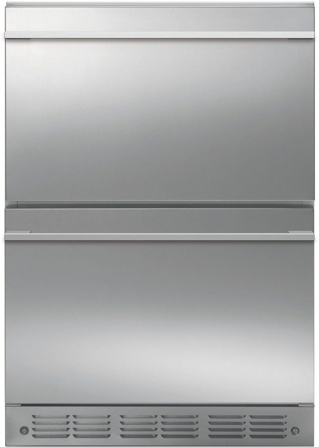 Monogram® 5.0 Cu. Ft. Stainless Steel Refrigerator Drawers-ZIDS240NSS