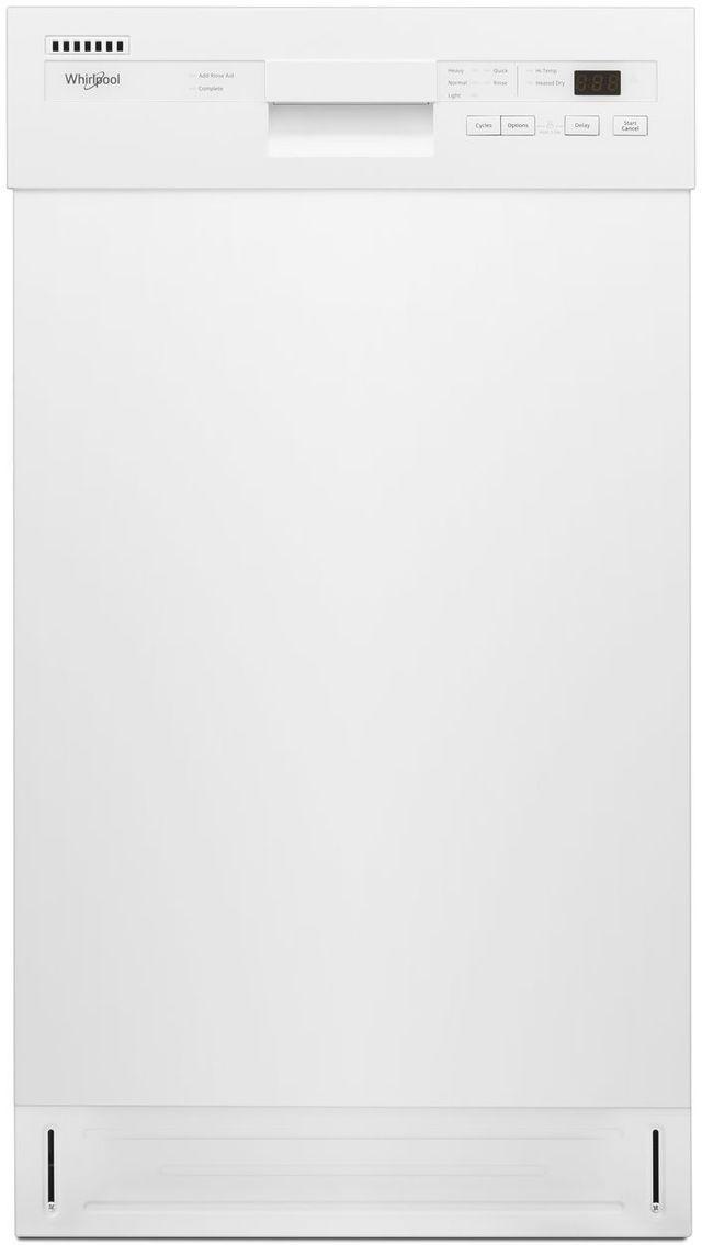 Lave-vaisselle encastré Whirlpool® de 18 po - Blanc-WDF518SAHW