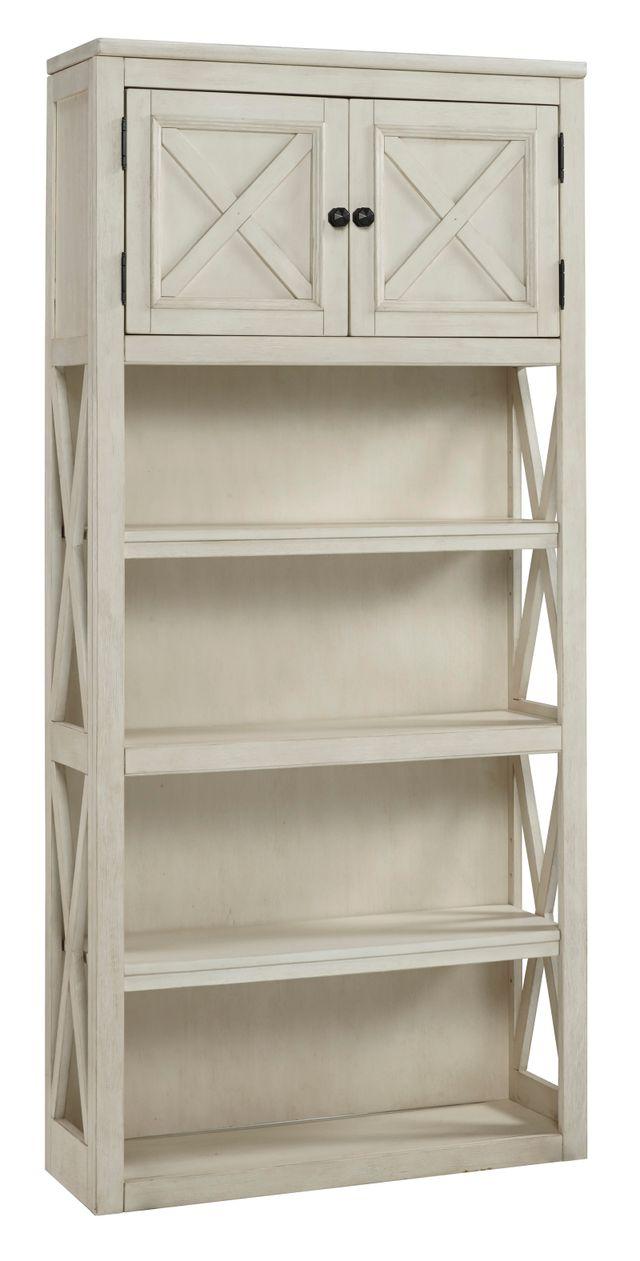"""Signature Design by Ashley® Bolanburg Two-tone 75"""" Bookcase-H647-17"""