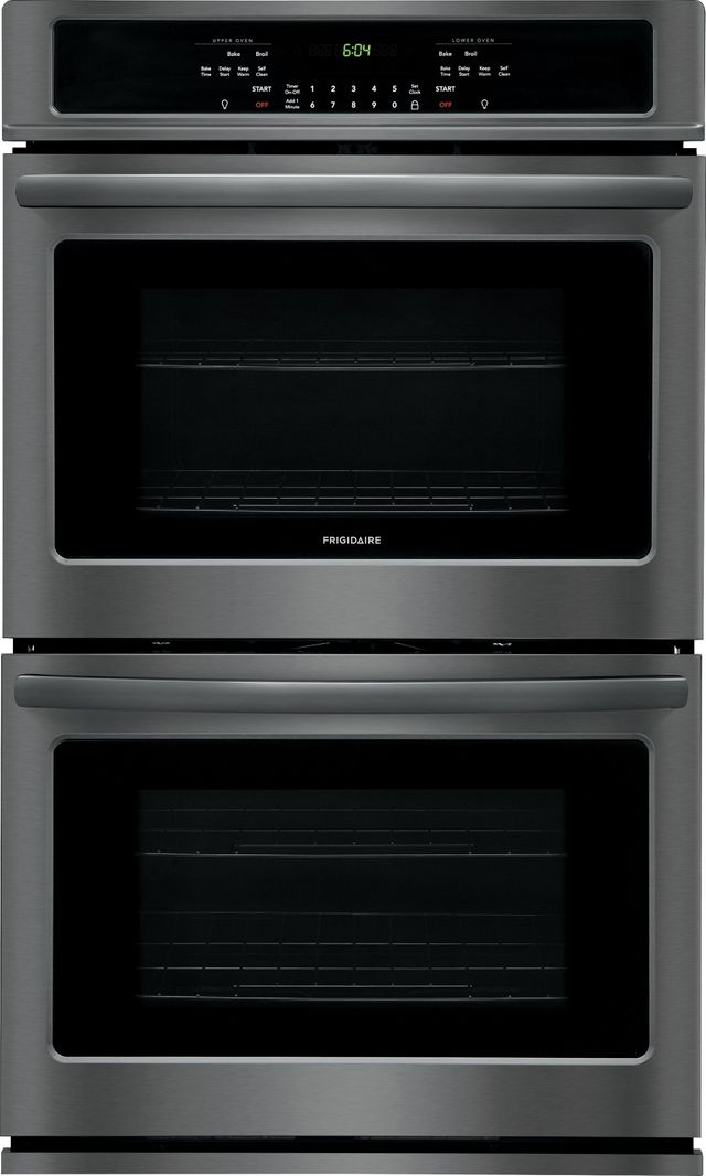 """Frigidaire® 30"""" Black Stainless Steel Electric Double Oven Built In-FFET3026TD"""