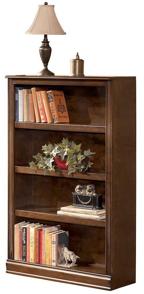 """Signature Design by Ashley® Hamlyn Medium Brown 53"""" Bookcase-H527-16"""