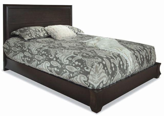 Durham Furniture Cascata Coastal Fog Queen Panel Bed-161-125