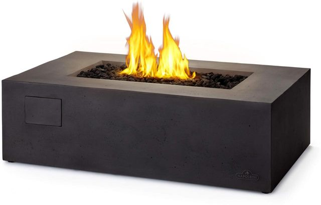 Napoleon Uptown Patioflame® Grey Outdoor Gas Firepit Rectangular Table-UPTN1-GY