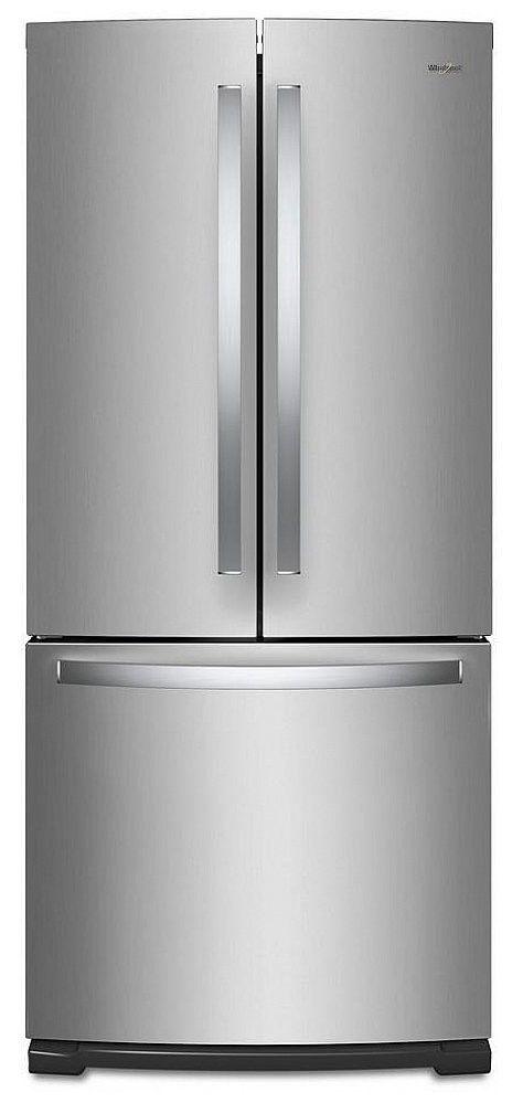 Whirlpool® 19.68 Cu. Ft. French Door Refrigerator-Fingerprint Resistant Stainless Steel-WRF560SMHZ