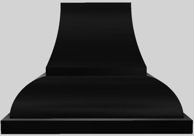 """Vent-A-Hood® Designer Series 42"""" Wall Mounted Range Hood-Black-JCH142/A1 BL"""